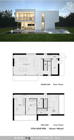 Modern house project Boss designed by NG architects www.ngarchitects.eu
