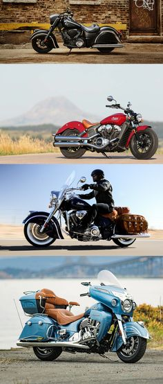 Indian Motorcycle, American Motorcycle Brand, has announced its 2016 range of models #IndianChiefDarkHorse   #motorcycle