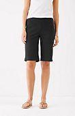 essential cotton-stretch shorts | J.Jill