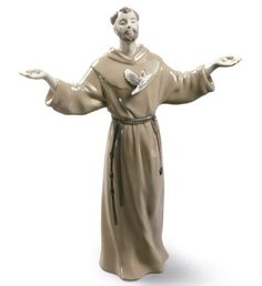 LLADRO NEW - ST. FRANCIS OF ASSISI - Christianity and Judaism Issue Year: 2015  Sculptor: Alfredo Llorens