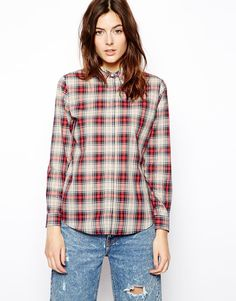 ASOS Shirt in Traditional Check