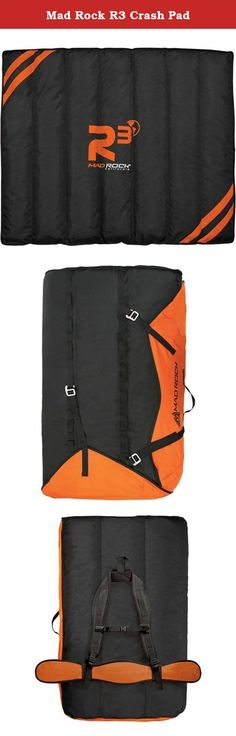 Mad Rock R3 Crash Pad. Climbing mat: Type: Crashpad Applications: Boulder Outer material: 100 % Nylon Climbing mat equipment: Carrying system: waist belt shoulder straps With accessory compartment: yes Dimensions climbing mat: Weight: 10000 g .