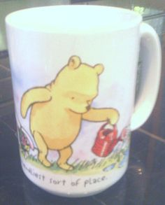 WINNIE THE POOH, TIGGER, PIGLET THE GARDEN IS THE FRIENDLIEST SORT OF PLACE MUG