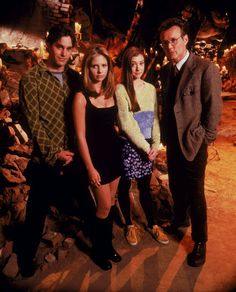 Buffy The Vampire Slayer- love. If xander, Giles, and spike were smashed together into one dude, he would be my dream man.