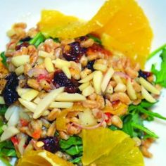 Farro Salad with Citrus Vinaigrette: Recipe created by Shane Loveall ...