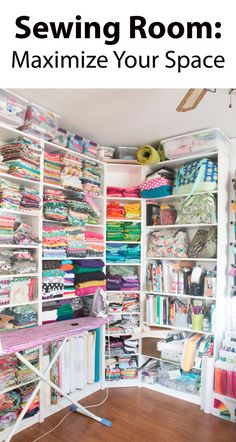 Sewing Room: Maximize Your Space