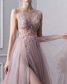 Sparkly Prom Dresses, Pretty Prom Dresses, Hoco Dresses, Tulle Prom Dress, Dance Dresses, Ball Dresses, Elegant Dresses, Homecoming Dresses, Beautiful Dresses