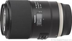Tamron 90mm f/2.8 Di VC USD Macro F017 Lens Review