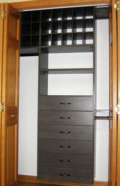 California Closets Twin Cities, Milano Grey Reach In Closet, Shoe Cubbies  Storage U0026 Organization