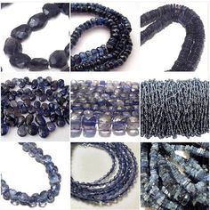 IOLITES are sometimes confused with SAPPHIRE and TANZANITE. The best way to recognise them is when you see varied shades in a single stone from different angles.