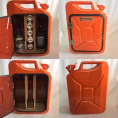 Upcycled Jerry Can Mini Bar, Picnic, Camping, Recycled, New Can, Orange | eBay