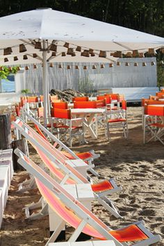 Sunset beach hotel on Shelter Island