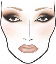 gorgeous face chart!!!