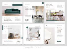 Design Portfolio Layout, Layout Design, Portfolio Web, Inmobiliaria Ideas, Instagram Advertising, Advertising Ideas, Feeds Instagram, Instagram Design, Instagram Layouts