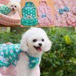 Bowknot Sexy Polka Dot Pet Dog Dress