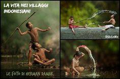 La vita nei villaggi indonesiani negli scatti di Herman Damar [FOTO]