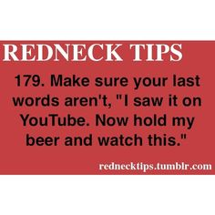 REDNECK TIPS ❤ liked on Polyvore