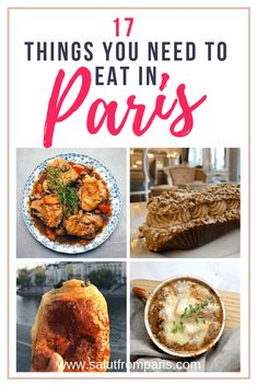Food to try in Paris! Know more about the best dishes you can try in Paris on your Paris trip. Don't spend time wondering what to eat in Paris anymore, check our food guide and know all the must eats of Paris! Paris France Travel, Paris Travel Guide, Paris France Food, Travel Guides, French Restaurants, Paris Restaurants, Croissants, Disneyland Paris, Famous French Dishes