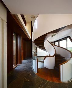 This staircase is breath-taking