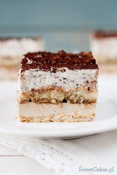 Kostka Cappuccino (bez pieczenia) Cappuccino Cake (no bake)