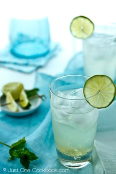 Refreshing Yuzu Cocktail | Easy Japanese Recipes at JustOneCookbook.com