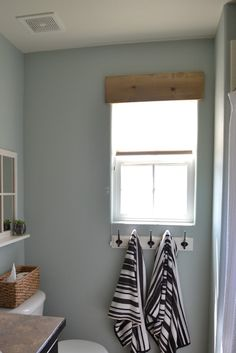 Livingrooms windows valance wood simple east rustic, bathroom ideas, home improvement, kitchen desig Diy Window, Wood Valances For Windows, Bathroom Interior Design, Interior, Wooden Valance, Rustic Window, Wood Bathroom, Home Decor, Wood Valance