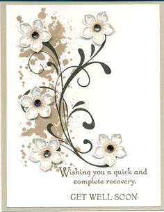 Stampin' Up! Everything Eleanor, Gorgeous Grunge, Petite Petals, Thoughts & Prayers. Crumb Cake