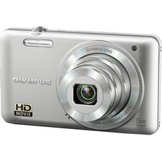 Olympus VG-160 14MP Digital Camera with 5x Optical Zoom (Silver): Brains and beauty - the VG-160 has it all and then some. This is the camera that offers all the extras without the extra costs. With creative features including One-Touch HD Video, Magic Art Filters, a 26mm Wide-Angle Lens and 5x Optical Zoom. $89