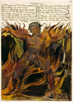 William Blake | The First Book of Urizen | 1794 | The Morgan Library & Museum