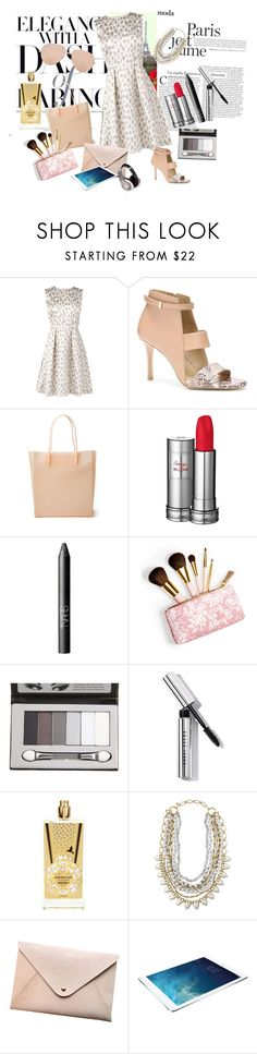 """""""Elegance"""" by nathalie-puex ❤ liked on Polyvore featuring L.K.Bennett, Ann Taylor, Alexander Wang, Lancôme, NARS Cosmetics, AERIN, POPbeauty, Bobbi Brown Cosmetics, MEMO and Stella & Dot"""