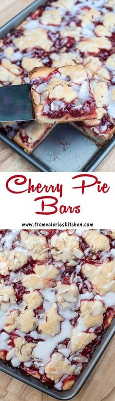 These pretty bars are quick and easy to make and include ingredients you can eas… These pretty bars are quick and easy to make and include ingredients you can easily keep stocked in your pantry.fromvaleriesk… – Cocktails and Pretty Drinks Cherry Desserts, Cherry Recipes, Easy Desserts, Delicious Desserts, Yummy Food, Eat Dessert First, Dessert Bars, Barres Dessert, Fudge