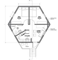 Single cell Hex House by Architects for Society refugee crisis housing architecture news