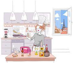 Diglee, illustratrice, agence Marie Bastille // cette image appartient à son auteur et/ou l'agence Marie Bastille + d'infos sur le site //