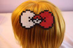 Pokeball Perler Hair Bow