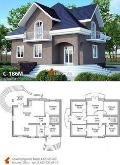 House Plans Mansion, Sims House Plans, Duplex House Plans, Bungalow House Plans, Bungalow House Design, House Front Design, New House Plans, Small House Design, Modern House Plans