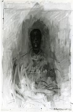 giacometti disegni | Alberto Giacometti Figure Drawings Between 1958 and 1962, alberto
