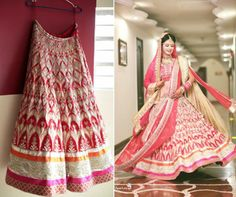 Prashasti Singh, a delighted Anita Dongre bride sent us this picture. Here's wishing the happy couple a lifetime of happiness. Picture courtesy - Madhur Chawla (Aperture 9) To buy online - http://shop.anitadongre.com/woman/timeless/lehengas/lehenga-9268.html