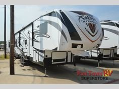 New 2015 Forest River RV XLR Thunderbolt 340X12HP Toy Hauler Fifth Wheel at Fun Town RV | Cleburne, TX | #133972