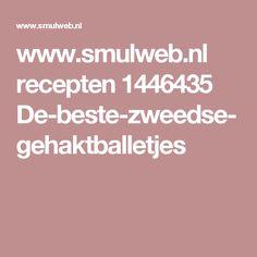 www.smulweb.nl recepten 1446435 De-beste-zweedse-gehaktballetjes