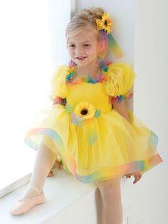 Put on a Happy Face - Style 049 | Revolution Dancewear Children's Dance Recital Costume