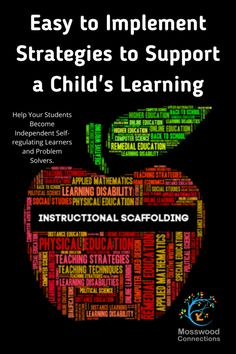 Scaffolding Learning and Differentiated Instruction -Easy to Implement Strategies to Support a Child's Learning #mosswoodconnections #scaffolding #parenting #education #diffrentiatedinstruction #autismtherapy