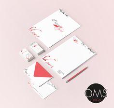 Identidad Corporativa - Dance Shoes (identidad creada)  OMS Design - TE Graphic Designer