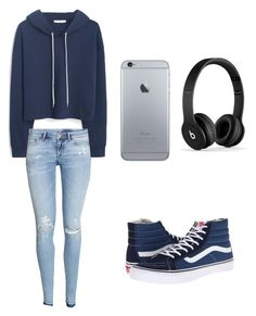 """Sem título #1"" by americasg ❤ liked on Polyvore featuring Vans, MANGO and H&M"