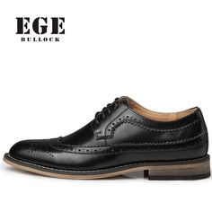 2017 High Quality Genuine Leather Dress Shoes For Men - Waterproof