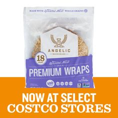 #ICYMI We got your request and are excited to say that #sproutedgrain Preimum Wraps & bread are coming to select Costco stores.