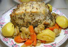 côtes+de+porc+façon+rôti Facon, Turkey, Occasion, Tour, Meat, Dish, Food, Recipes, Peru
