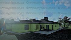6 Bedroom House Plans - My Building Plans South Africa Single Storey House Plans, Split Level House Plans, Square House Plans, Tuscan House Plans, Metal House Plans, My Building, Building Plans, Home Design Plans, Plan Design