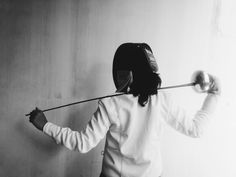 Epee fencer