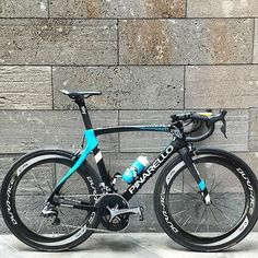The bike Chris Froome will ride for the @heraldsuntour.