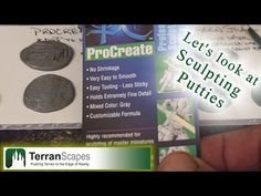▶ TerranScapes - Sculpting Putties Review - Milliput, GreenStuff, Procreate - YouTube